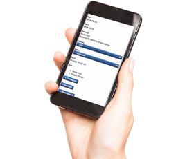 Tidrapportering i mobil
